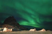 Nordlys, Grønland, Uummannaq