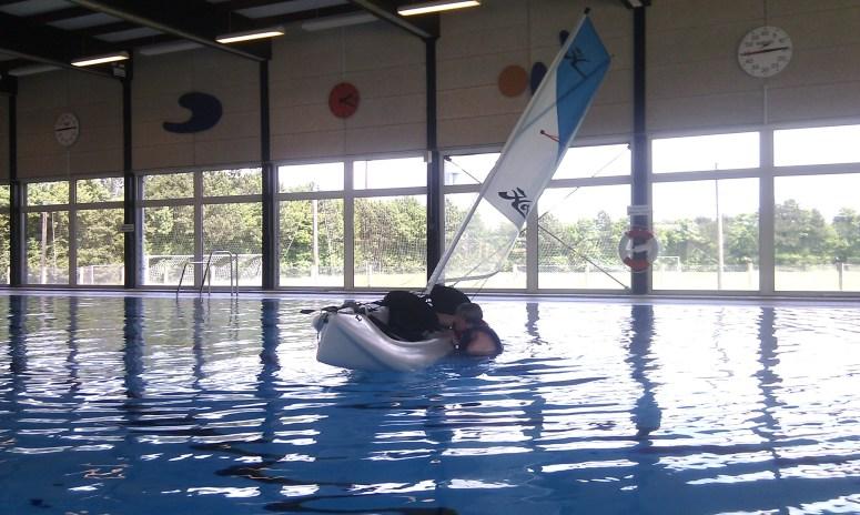 Svømmehals træning