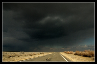 The Lonelieste road, The Pony Express, i Nevada, USA