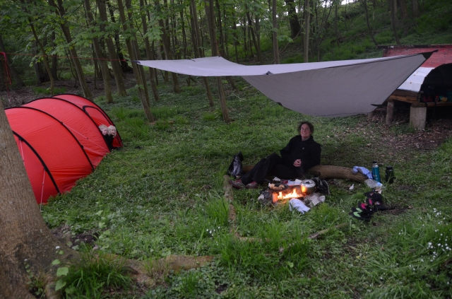 Super Camp, rigtig hyggeligt - Great camp, very cosy