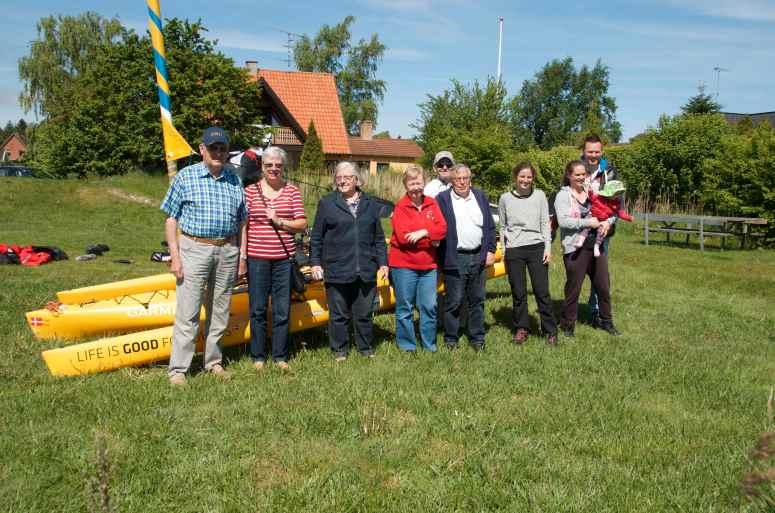 Gillet fra Sakskøbing kom også forbi, dejlig overraskelse / The old boyscouts from Sakskøbing came by, nice surprise.