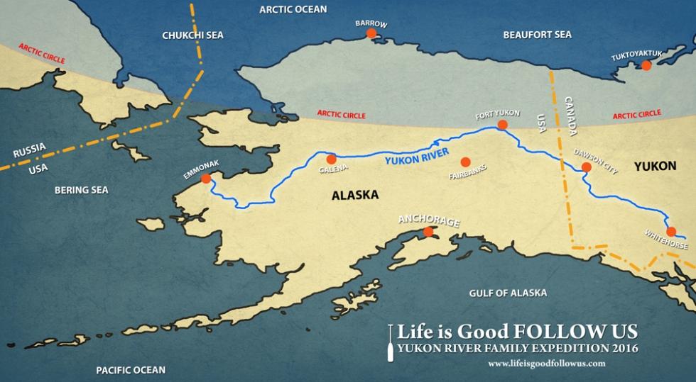 Yukon Map 25pct