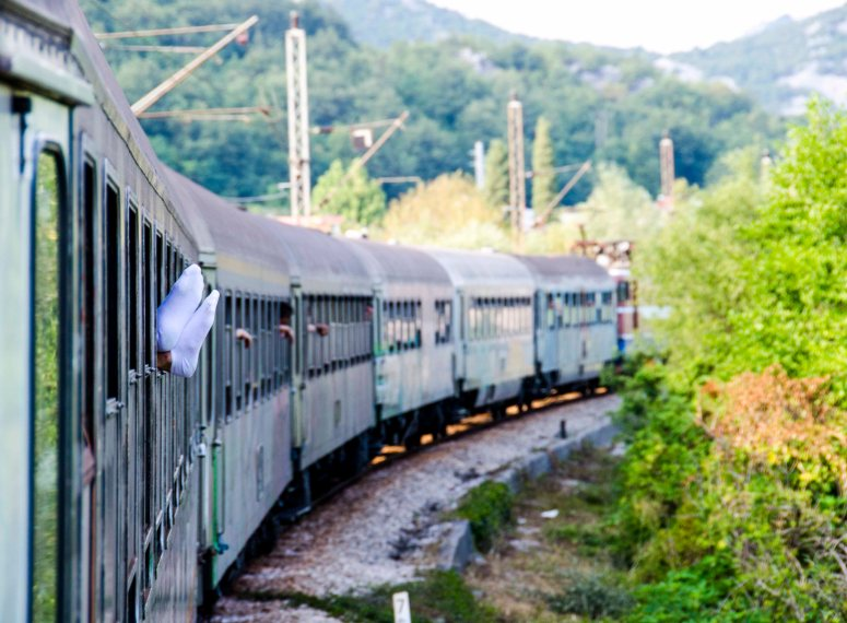 On the train in Serbia .JPG