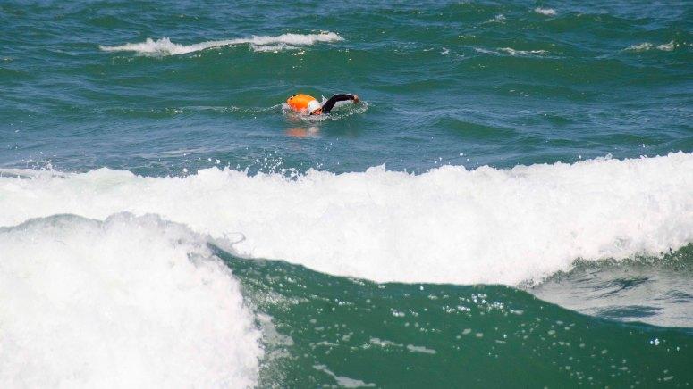 En svømmetur i Vesterhavet er ikke uden udfordringer